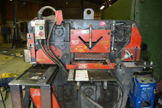 Edwards 75 t capacity hydraulic steelworker ,