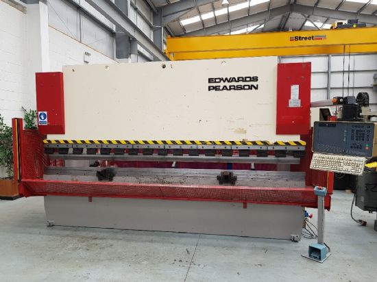 Cybelec DNC 80 , 3 axis CNC, tooling, light guards, foot control, downstroking, 100 tons x 4100mm ca