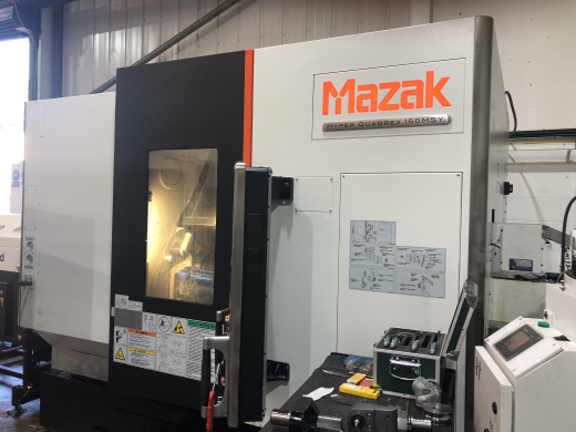 2-turret/2-spindle CNC turning center