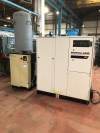 250 CFM Rotary Screw Compressor with Dryer and Air Receiver