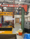 Pelloby 500kg electirc hoist Jib Crane in Very good condition