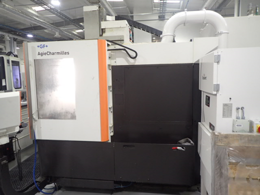 Mikron HPM450U 5-axis machining Centre, 2012, S/n 107.37.00.442, 7-pallet system, Heidenhain iTNC 53