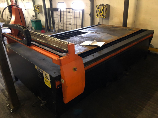 Escco Procut 840 CNC Plasma Cutter with water table Escco CNC Control, (Procut & Advanced Cut), s/n