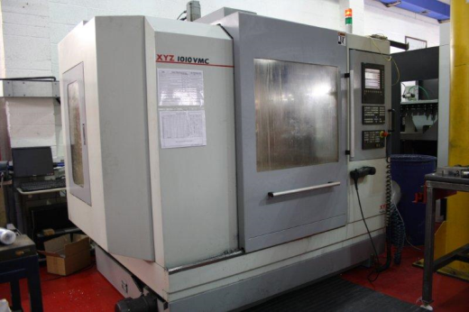2008 XYZ 1010 vertical machining centre has been superbly well looked after and used exclusively on