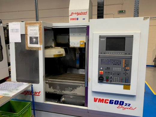 Bridgeport VMC600/22, 2000, Ser No 821888, Heidenhain TNC410  (Digital), table 840 x 420mm, trav 600