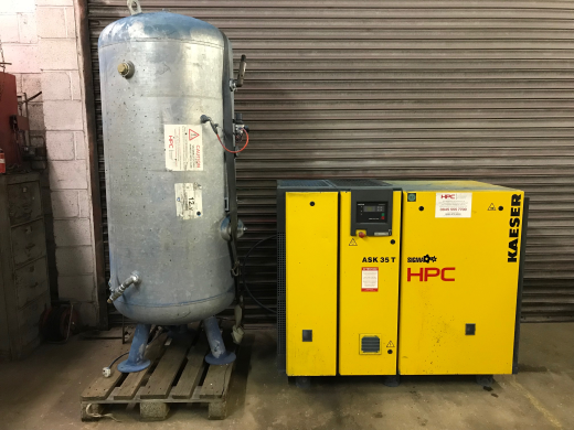 Screw Compressor HPC ASK35T With 900L Receiver