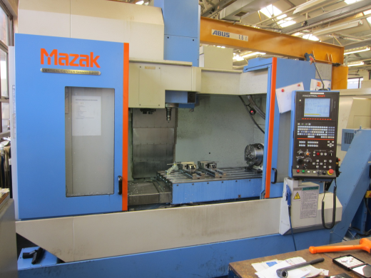 Mazak VTC530C, 2011, Mazatrol Smart Control, 4th axis, swarf conveyor,toolsetter, trav  1,740 x 530