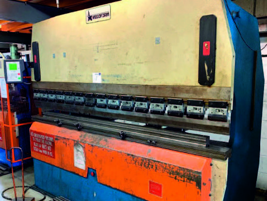 Megaform 3 Metre X 100 Ton 3 Axis CNC Press Brake for sale