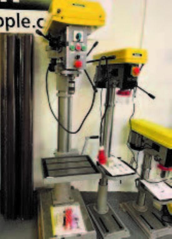 (1) MFS-150 Multi Grinder Set  (2) DS-150 & DS-200 D/E Grinders  (1) BS-100G Bandsaw  (1) TBH 24