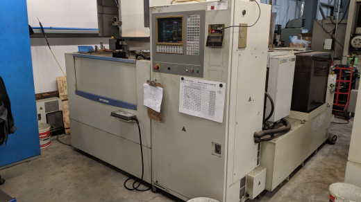 1 off Mitsubishi FX20 Wire edm machine 1998.