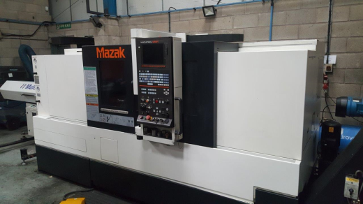 Mazak Quick Turn Smart 250 CNC Lathe, 2014 , Ser No TBA, Mazatrol Smart Control, BB-210 Kitagawa Chu