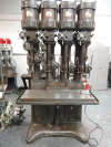 Herbert V-Type 4 Spindle In Line Drilling Machine