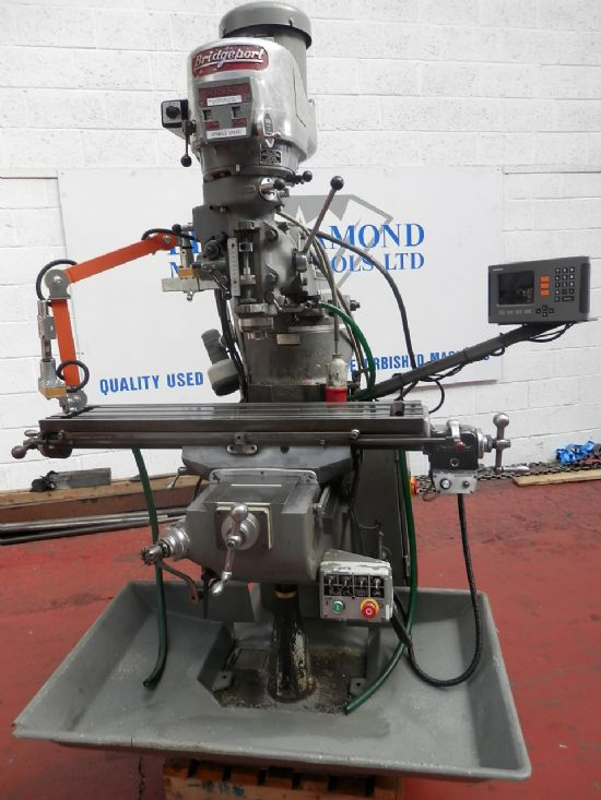 c/w 2-axis DRO. Very good condition