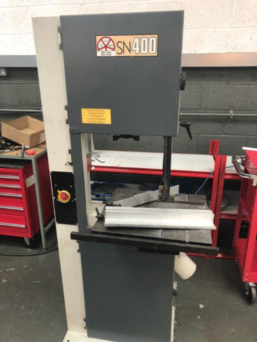 Socomec SN400 Bandsaw, 2000, table 450 x 500mm