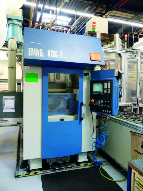 chuck dia 400mm, turning dia 340 mm, 12-Pos/driven, 3.600rpm, CNC SIEMENS 840D