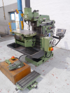 Universal Milling & Boring Machine, With universal swivelling table,