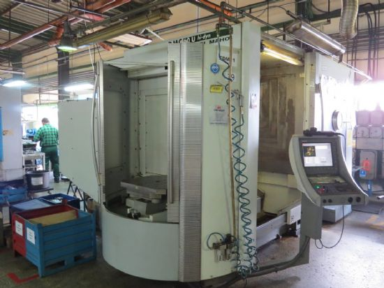 Year of production: 2002 Made in: Germany Working travel:X: 600 mm Y: 700 mm Z: 600 mm Pallet: