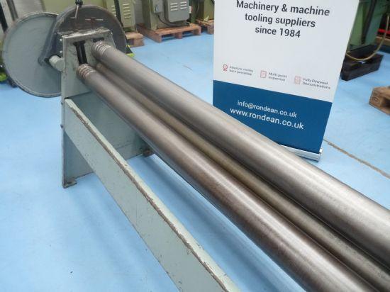 SUPERB CONDITION 2030 x 100mm diameter Heavy Duty Sheet Metal Bending Rolls