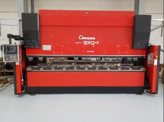 OP 20058 , Y1, Y2, X, R CNC, tooling, light guards, 3050mm between frames, 200mm stroke, 220 tons x