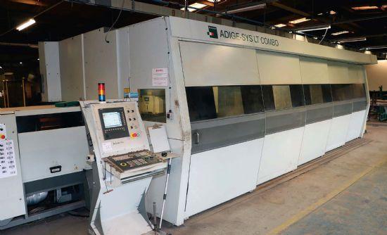 YoM 2013 sheets up to 6500 x 3000 x 2 mm laser: ROFIN sinar DC035  SIEMENS Sinumerik 840D
