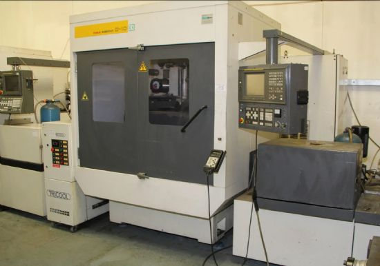 X/Y/Z = 520 x 370 x 300mm, including cooling system TRICOOL, control FANUC SERIE 16-W