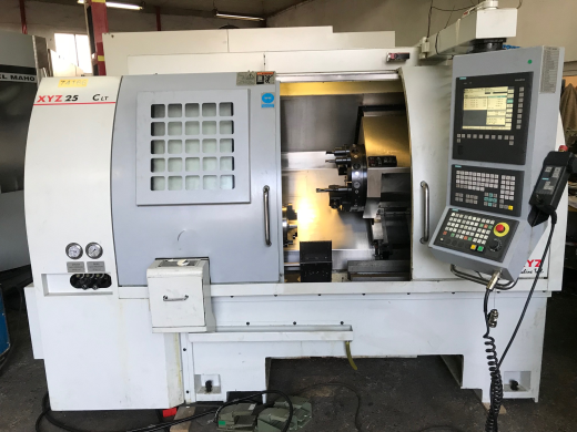 Cnc lathe XYZ TC250LT with live tools C axis