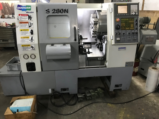 Doosan S280N 2 axis cnc lathe