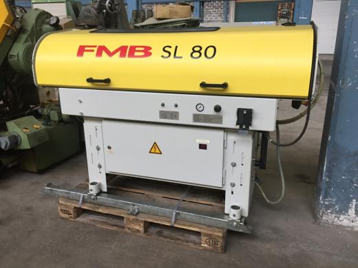 Stock No.: 3457 BAR FEEDER Manuf.: FMB, Type: SL 80 Serial No.: 24-240002, Build: 2004  Specifi