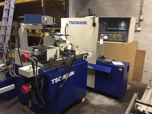 Stock No.: 3450 CNC-EXTERNAL GRINDER Manuf.: TSCHUDIN, Type: CNC PL 31  Serial No.: 31495, Build:
