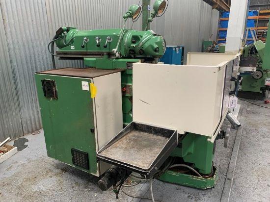 Model NU5-155, Serial No 42016, MFD Aug 1989, CNC Control Heidenhain TNC155, Table 1635 x 460mm, Lon