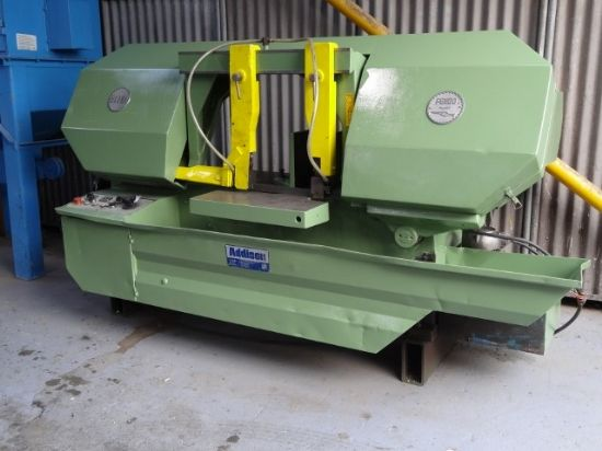 Model 500SA, capacities Rounds 500mm, Squares 400 x 400mm, Rectangles 610 x 305mm, Blade Speeds 40 –