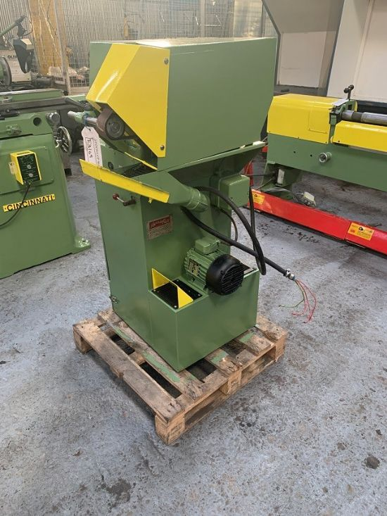 Model AD1-12, Serial No 200999, Belt Width 50mm, Complete With Integral Extraction, Motor 1HP, Elect