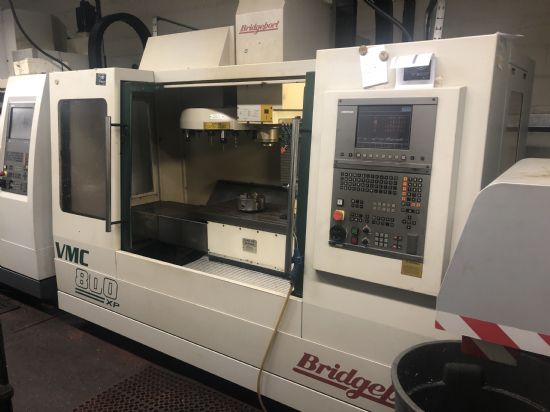 2001. Heidenhain 426 control, 8in 4th axis Nikken table, 12,000rpm, 22-tool carousel