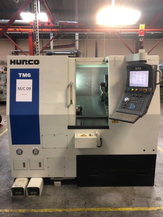 Hurco TM6 CNC Lathe (2012)  Year of Manufacture 2012 Machine on time 1954 Main Spindle on time 7