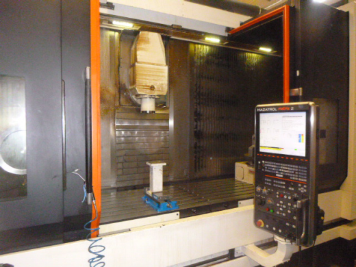 Mazak VTC800/30SR 5 Axis Vertical Travelling Column, 2016, 271452, Mazatrol Matrix 2 Control, 4th &