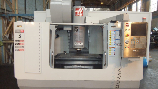 Haas VF3SS 5 Axis, Dec 2008, s/n 1072651, Nikken Trunnion 5th axis (2013), Through Spindle Coolant,