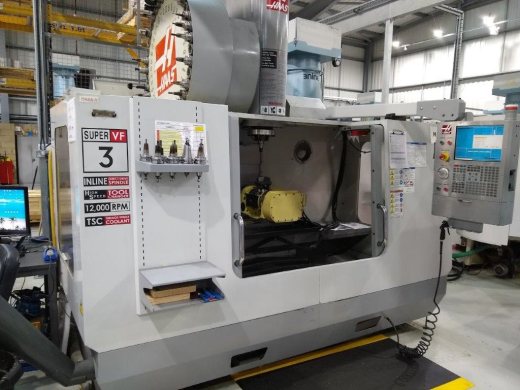 Haas VF3SS 5 Axis, 2009, s/n 1072660, Nikken Trunnion 5th axis (2014) , Through Spindle Coolant, In