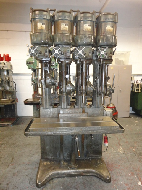 Herbert V-Type 4 Spindle In Line Drilling Machine 2