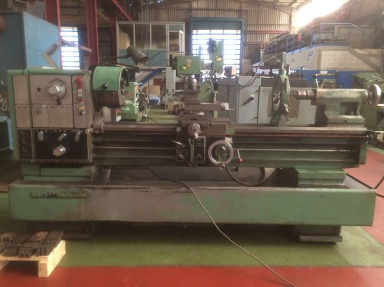 Reference: TOU120 ModelM500 Ø over the bed (mm)530 Spindle bore (mm)80 Distance between-cent