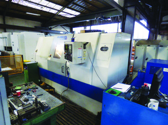 Fanuc 0-T Series CNC Control. New 5/1997. Swing over Bed. 570mm. Swing over cross 290mm. Max turning
