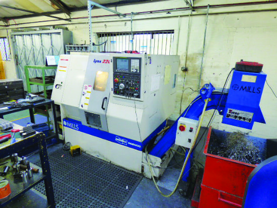 Fanuc 0i-T Series colour CNC control. New 2006. Swing over bed 510mm. Swing over cross 290mm. Max tu