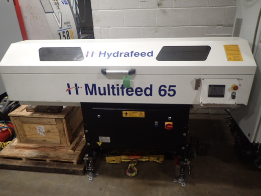 Multifeed 65 Short Mag Bar Feed, 2016, s/n L02-16E07, 1½ metre bars, 65mm cap