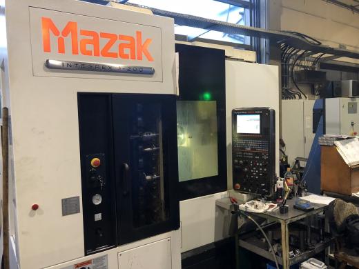 Mfg. year 12/2010, Installed 04/2011 Mazatrol Matrix control Max. turning diameter 530 mm Max. tu