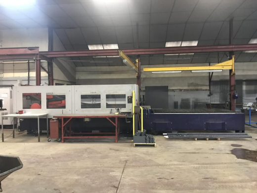 CNC Laser Cutting Machine BYSTRONIC BYSPRINT 3015, 2 exchanged tables Opis: Year of production: 20