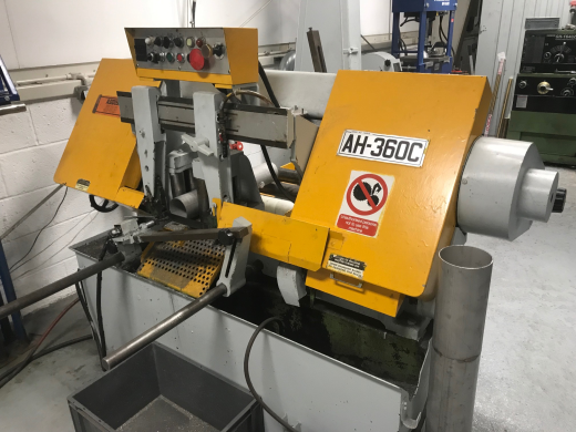 Addison Jubilee AH-360 C Automatic Horizontal Bandsaw
