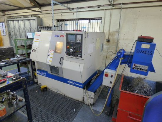 With Fanuc 0i-T Series Colour CNC Control 
