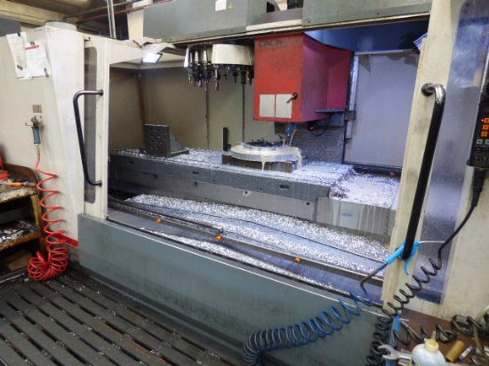 with Fully Integrated 4th Axis Rotary Table/Tailstock. Heidenhain TNC 426 Digital CNC Control Syste