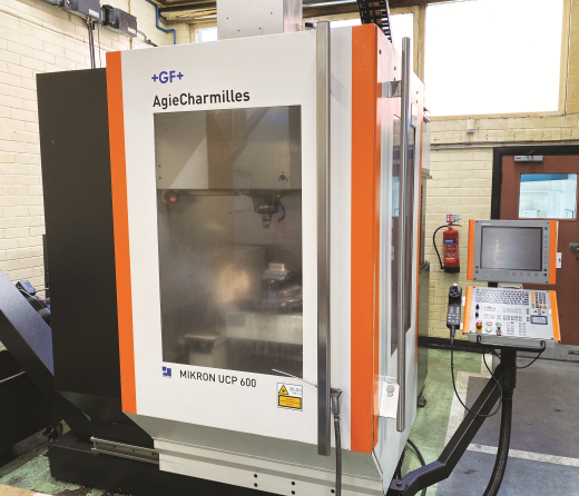 MIKRON +GF+ AGIE CHARMILLES UCP 600 5 Axis Machining Center New 2008 With HEIDENHAIN iTNC 530 five