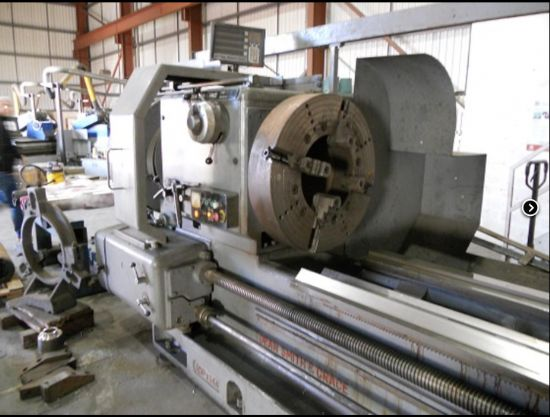 Type: 30P x 144 Capacity:  813 x 3658mm Spindle Bore:  356mm Spindle Speeds: 2.24 – 355 RPM Mach