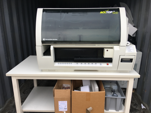 IL ACL TOP 500 CTS Coagulation Analyser in good condition. Sold with software and new Hard drive,